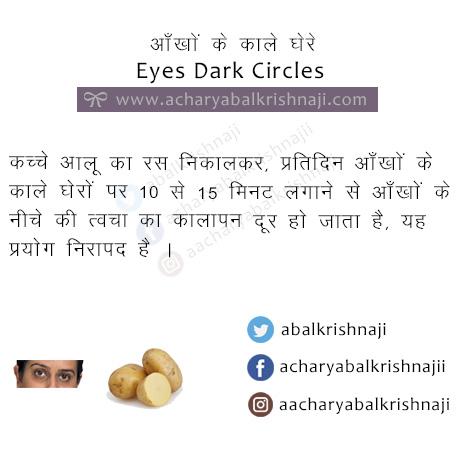 eyes dark circles